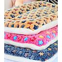 preiswerte Hundetraining-Hunde Katzen Betten Haustiere Matten & Polster Einfarbig Weich Faltbar Zufällige Farben Für Haustiere