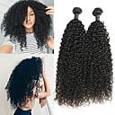 tanie korektor & Contour-2 zestawy Włosy indyjskie Jerry Curl Włosy naturalne Doczepy z naturalnych włosów 8-24 in Ludzkie włosy wyplata Najwyższa jakość / Nowości / Gorąca wyprzedaż Ludzkich włosów rozszerzeniach Damskie