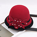 זול כלי אוכל-אחר חומר כובעים עם דמוי פנינה / פרח 1pc חתונה / מסיבה\אירוע ערב כיסוי ראש