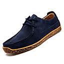 זול נעלי אוקספורד לגברים-בגדי ריקוד גברים סוויד / עור חזיר סתיו נוחות נעלי אוקספורד כחול / חאקי / בורדו