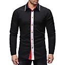 billige Lampestolper-Skjorte Herre - Fargeblokk, Lapper Grunnleggende
