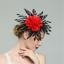 cheap Party Headpieces-Feathers Fascinators with Feather 1pc Wedding / Special Occasion Headpiece