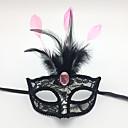 billige Masker-Dame Stilfull Munnmaske - Blonde, Broderi Katt