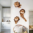 cheap Wall Stickers-Decorative Wall Stickers - Plane Wall Stickers Animals Living Room / Bathroom