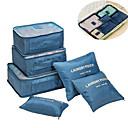 billige Førstehjælp på rejsen-Rejsebagageorganisator Bærbar / Foldbar / Multifunktionel Baggage / Tøj Net Rejse