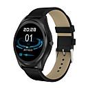 baratos Smartwatches-Relógio inteligente N3Pro para Android iOS Bluetooth Monitor de Batimento Cardíaco Calorias Queimadas Chamadas com Mão Livre Controle de Mídia Distancia de Rastreamento Podômetro Aviso de Chamada