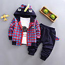 cheap Baby Boys' Clothing Sets-Baby Boys' Casual Solid Colored Long Sleeve Clothing Set / Toddler