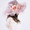 cheap Party Headpieces-Tulle Headwear with Cap 1pc Wedding / Party / Evening Headpiece