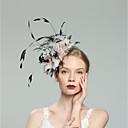 preiswerte Parykopfbedeckungen-Feder Fascinatoren mit Feder 1pc Hochzeit / Besondere Anlässe Kopfschmuck