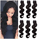 cheap LED Candle Lights-6 Bundles Indian Hair Body Wave 8A Human Hair Human Hair Extensions 8-24 inch Human Hair Weaves Women Best Quality New Arrival Human Hair Extensions Women's