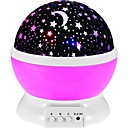 cheap Nail Glitter-1pc Sky Projector NightLight / Nursery Night Light Colorful AAA Batteries Powered / USB For Children / Decoration / Atmosphere Lamp Battery