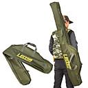 billige Fishing Light-Fiskegrejer Kasser Fiskestang Bag Foldbar Lerret 100/150 cm