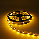 cheap LED Strip Lights-5m Flexible LED Light Strips 300 LEDs 5050 SMD Red / Yellow / Green Cuttable / Linkable / Self-adhesive 12 V 1pc