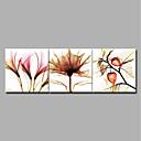 tanie Wydruki-Wydrukować Zwijane wydruki na płótnie / Wydruki na rozciągniętym płótnie - Botaniczne / Kwiatowy / Roślinny Nowoczesne / Nowoczesny