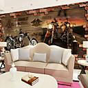 tanie Fresk-Tapeta / Mural Brezentowy Tapetowanie - klej wymagane Art Deco / Wzorzec / 3D