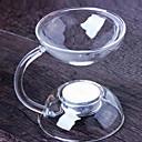 ieftine Lumânări & Suport de Lumânări-stil minimalist sticlă Suporturi Lumânări Candelabra 1 buc, Lumânare / Suport pentru lumânări