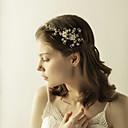 tanie Imprezowe nakrycia głowy-Imitacja pereł / Stop Opaski na głowę z Kryształy / kryształy górskie 1 sztuka Ślub / Impreza / bal Winieta