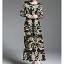 preiswerte Damen Heels-Damen Baumwolle Etuikleid Kleid Knielang