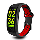 cheap Smartwatches-KUPENG Q6S Smart Bracelet Smartwatch Android Bluetooth Sports Waterproof Heart Rate Monitor Blood Pressure Measurement Touch Screen Stopwatch Pedometer Call Reminder Activity Tracker Sleep Tracker