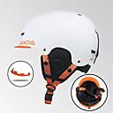 お買い得  スキーヘルメット-スキーヘルメット フリーサイズ スノーボード スキー アンチコリジョンシステム 調整可 炭素繊維 + EPS ポリプロピレン+ABS樹脂 CE