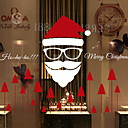cheap Window Film & Stickers-Window Film & Stickers Decoration Contemporary / Christmas Simple / Holiday PVC(PolyVinyl Chloride) Cool / Shop / Cafe