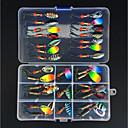 cheap Fishing Lures & Flies-31 pcs Fishing Lures Spoons Metal Easy to Use Sea Fishing / Fly Fishing / Bait Casting / Ice Fishing / Spinning / Jigging Fishing / Freshwater Fishing / Carp Fishing