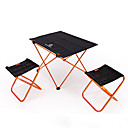 cheap Bakeware-BEAR SYMBOL Camping Folding Chair / Camping Table Outdoor Lightweight, Anti-Slip, Folding Oxford Cloth, 7075 Aluminium for Fishing / Camping Orange