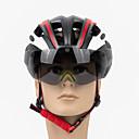 olcso Kerékpáros dzsekik-PROMEND Felnőttek kerékpáros sisak BMX sisak 17 Szellőzőnyílás Könnyűsúly Egybeöntött ESP+PC Sport Jégkorcsolyázás Szabadtéri gyakorlat Kerékpározás / Kerékpár - Fekete Piros Kék Uniszex