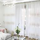 preiswerte Gardinen-Gardinen Shades Schlafzimmer Zeitgenössisch Baumwolle / Polyester Reaktivdruck