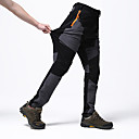 cheap Hiking Trousers & Shorts-Men's Solid Color Hiking Pants Outdoor Waterproof Windproof Breathable Quick Dry Autumn / Fall Spring Summer Spandex Pants / Trousers Bottoms Camping / Hiking Hunting Climbing Grey Green / Black Khaki