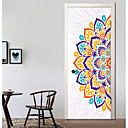 cheap Pillow Covers-Door Stickers - 3D Wall Stickers Abstract / Religious Living Room / Bedroom