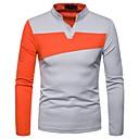 preiswerte Pendelleuchten-Herrn Einfarbig T-shirt / Polo