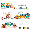 cheap Wall Stickers-Decorative Wall Stickers - Plane Wall Stickers / Animal Wall Stickers Animals Bedroom / Kids Room