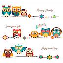 billige Veggklistremerker-Dekorative Mur Klistermærker - Fly vægklistermærker / Animal Wall Stickers Dyr Soverom / Barnerom
