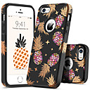 cheap Wedding Wraps-BENTOBEN Case For Apple iPhone 5 Case Shockproof / Pattern Back Cover Plants / Fruit Hard PC for iPhone SE / 5s / iPhone 5