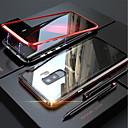 Χαμηλού Κόστους Θήκες iPhone-tok Για Samsung Galaxy Galaxy S10 / Galaxy S10 Plus Μαγνητική Πλήρης Θήκη Μονόχρωμο Σκληρή Ψημένο γυαλί για S9 / S9 Plus / S8 Plus