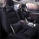 זול משענת ראש לרכב-ODEER כיסויי למושבים לרכב משענת ראש & ערכות מותן כרית שחור טֶקסטִיל / Acetate נפוץ עבור אוניברסלי כל השנים כל הדגמים