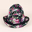 billiga TV-spelskostymer-Cotton Kentucky Derby Hat / hattar med Tryck 1st Casual / Dagliga kläder Hårbonad