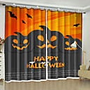 cheap Wall Murals-3D Curtains Bedroom Geometric Polyester Reactive Print