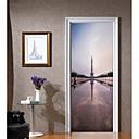 رخيصةأون ملصقات الحائط-ملصقات الباب - لواصق ريفي / ديني غرفة الجلوس / غرفة النوم