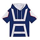 preiswerte Auto Innenleuchten-T-Shirt-Ärmel Mein Held Academia Midoriya Izuku Polyester / Baumwolle Zeichentrickfilm