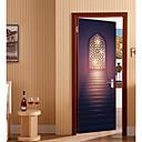 Χαμηλού Κόστους Μπρελόκ-Αυτοκόλλητα πόρτας - 3D Αυτοκόλλητα Τοίχου Αφηρημένο / Religious Σαλόνι / Υπνοδωμάτιο