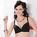 ieftine Sutiene Damă-Femei 3/4 košarice Sutiene Push-up / Sutiene din Dantelă / Sutiene cu Întăritură - Mată