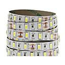 billige LED Strip Lamper-5 m Fleksible LED-lysstriper 300 LED 5730 SMD Varm hvit / Kjølig hvit / Rød Selvklebende 12 V 1pc