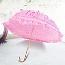 """זול מניפות ושמשיות-ידית וו חתונה / יומי מטרייה עיצוב מיוחד לחתונה / מטרייה / מטריית שמש 33.5""""(כ-85 ס""""מ)"""