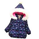 זול ילדים כובעים ומצחיות-בנות פעיל / סגנון רחוב מכנסיים - מנוקד מכפלת פרווה / דפוס אודם / ליציאה / פעוטות