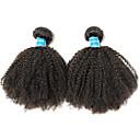 tanie Dopinki naturalne-2 zestawy Włosy brazylijskie Afro 10A Włosy virgin Włosy naturalne remy Fale w naturalnym kolorze 8-26 in Natutalne Ludzkie włosy wyplata Najwyższa jakość 100% Dziewica Ludzkich włosów rozszerzeniach