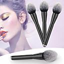 povoljno prah četke-profesionalac Četke za šminku Kist za rumenilo 1 komad Profesionalna Synthetic Hair Aluminij za