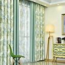 povoljno Prozorske zavjese-Moderna Zavjese Zavjese Dvije zavjese Zavjesa / Bedroom