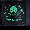 Недорогие Временные татуировки-Декоративные наклейки на стены - Светящиеся наклейки Halloween В помещении